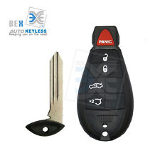 Uncut Replacement Key Fob Keyless Entry Remote For Jeep 2008-2014 Grand Cherokee