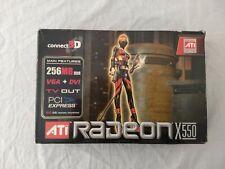 ATI RADEON X550 Videocard 256MB DDR pciexpress Connect3D