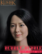 "1/6 Kumik Female Head Sculpt Lim-Yoon-A For 12"" Hot Toys Phicen SHIP FROM USA"