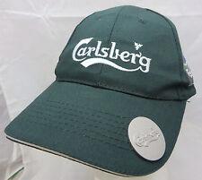 Carlsberg beer brewery baseball cap hat adjustable buckle Euro 2012