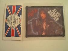 Vintage Alice Cooper 80s Unused Patch heavy metal metallica ozzy wasp lp shirt