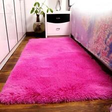 New Fluffy Living Room Carpet Shaggy Soft Area Rug Rectangle Floor Mat Hot PK AD