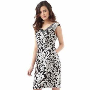 Ted Baker Womens Hazle Embellished Tulip Shape Dress - Size UK 10 - rrp £229