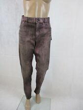 Riani Jeans, metallic Optik, Farbe schwarz / rot / silber, Größe 44