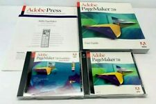 Adobe Pagemaker 7.0 Disc with User Guide Possibilities MAC Education Version
