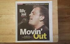 BILLY JOEL NEWSDAY FINAL CONCERT NASSAU COLISEUM PIANO MAN