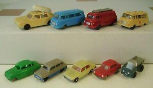 Sammlung DDR Modell Autos Barkas Espewe ua.