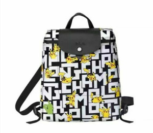 Longchamp X Pokemon Le Pliage LGP Mini Pikachu Backpack Bag-1699