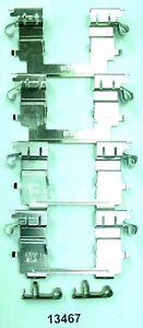 Frt Disc Brake Hardware Kit  Better Brake Parts  13467