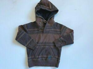 Billabong New Casual Pullover Hoodie Sweatshirt Little Boy's 3T