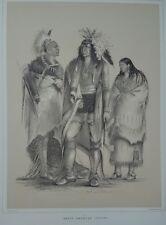 George Catlin,North American Indian Portfolio,25 lithographs,lim.ed.nr.817/1000