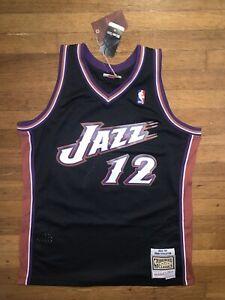 Utah Jazz 98-99 John Stockton Mitchell & Ness Basketball Jersey Men's Large NWT