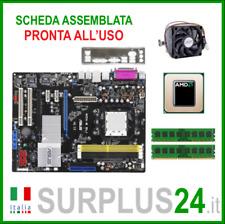 ASUS M2N-E SLI + AMD Athlon 64 X2 6000 + 4GB RAM  Kit Scheda Madre AM2 I/O #1878
