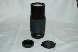 MC Miranda Zoom Vintage 4.5/80-200 Tele Lens. M42 SLR Mount. 898650. UK Sale