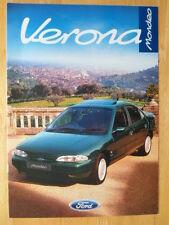 FORD Mondeo Verona 1996 Special Edition UK Mkt sales brochure