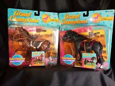1995 Grand Champions Mare Stallion Collection Horse Toy Lot By Empire Walker