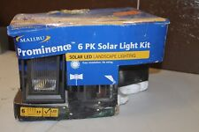 Malibu Prominence Led Solar Pathway Accent Light Kit Missing Spotlights