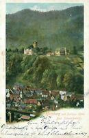 Ansichtskarte Hornberg 1900 Schloßhotel Schwarzwald (Nr.777)