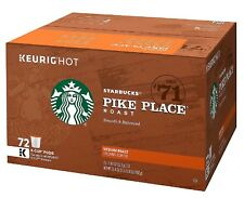 Starbucks Pike Place K-Cups 72 ct. 100% Arabica Coffee - Medium Roast