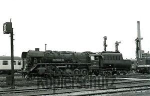 Original Dampflok NEGATIV - 44 9612 im Heimat Bw Saalfeld, 5/1971