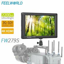 Feelworld FW279s 7'' Bright 2200nit On Camera Video Field Monitor 3G SDI 4K HDMI