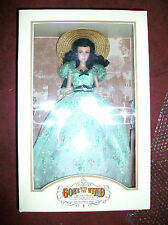 Franklin Mint Gone With The Wind Scarlett Doll in Bbq Portrait Gown Rare Htf