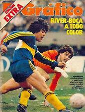 DIEGO MARADONA - BOCA vs RIVER Magazine 1981