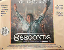 James Rebhorn  8 SECONDS(1994) Original movie poster