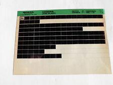 Honda CBR 900 RR Fire Blade 1992 Microfilm Catalogo ricambi Parti