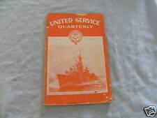#D5. AUSTRALIAN UNITED  SERVICES QUARTERLY October 1962