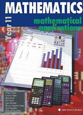 Mathematical Applications Year 11 by R.C. Haese Harris Book &Cd-Rom Maths Eleven