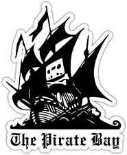 "The Pirate Bay Car Bumper Window Locker Sticker Decal 4""X5"""