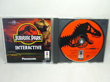 JURASSIC PARK Interactive Item Ref/bbc 3DO Real Panasonic Import JAPAN Game 3d