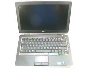 "Dell Latitude E6320 14"" Laptop 2.6GHz i5-2540M 8GB RAM (Grade C No Caddy)"