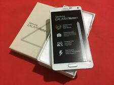 New Samsung Galaxy Note 4 SM-N910V - 32GB - White Frost (Verizon) GSM Unlocked