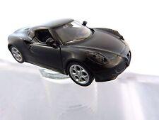 Welly Alfa Romeo 4C in schwarz ca 11 cm lang