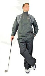 RAM MEN'S WATERPROOF GOLF SUIT JACKET & TROUSERS 100% Microfiber Golf Suit