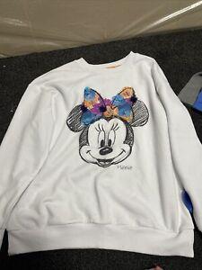 Ladies Minnie Mouse Disney Jumper Size M