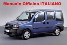 Fiat Doblò 1° MK1 prima serie (2000/2010) Manuale Officina Riparazione ITALIANO