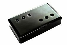 "Wide Range Humbucker Pickup Cover 3x3 ""Jet Black Nickel"" nickel silver 54mm"