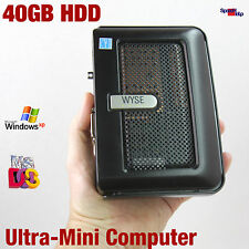 ULTRA MINI KLEIN HAND COMPUTER PC 1GHZ  DOS WINDOWS XP 2000 DVI 40GB HDD 512MB