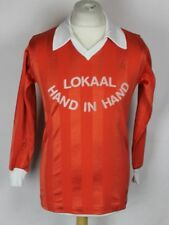 #4 VINTAGE LOKAAL HAND IN HAND FOOTBALL SHIRT MENS SMALL ORIGINAL 70's / 80's