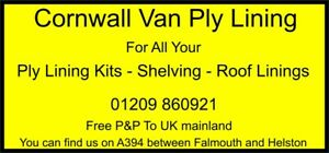 VAN PLY LINING, RACKING AND SHELVING FOR MOST VEHICLES