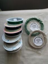 CRAFT BEADING JEWELLERY WIRE ASSORTED COLOURS & SIZES