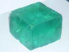 cristalloterapia esemplare FORMA CALCITE colorata VERDE MARE grande minerale