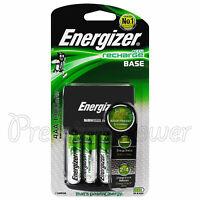 Energizer Recharge BASE charger for AA & AAA NiMH + 4 AA 1300mAh batteries EU