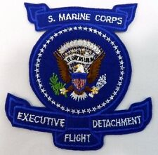 United States US Marine Corps Patch Executive Detachment Flight Airplane