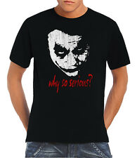 Touchlines - Joker Why so Grave? Camiseta T-Shirt S-5XL Used-Look