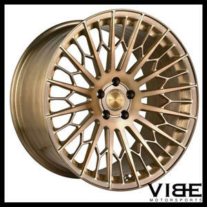 """20"""" STANCE SF02 BRONZE FORGED CONCAVE WHEELS RIMS FITS NISSAN ALTIMA"""