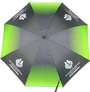 Large Golf Umbrella Official Kawasaki Moto GP Team Paddock Motorcycle Motorbike